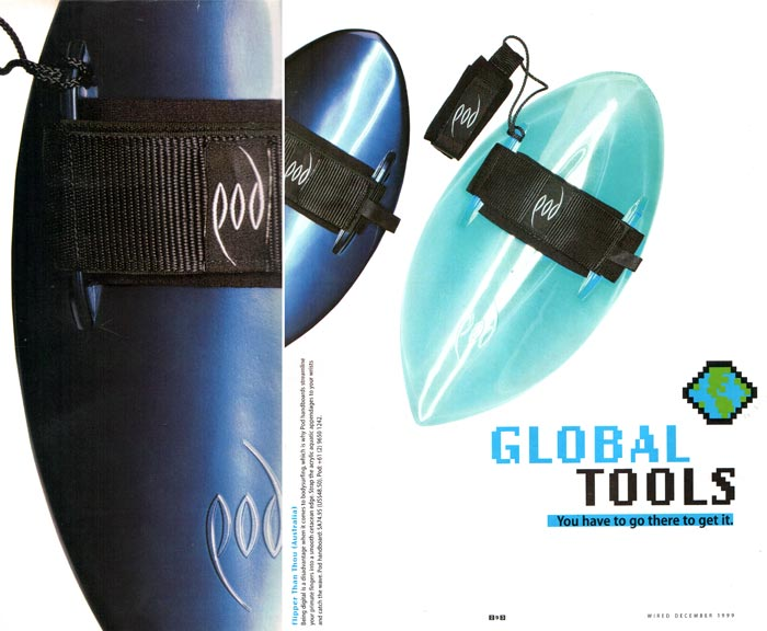 Australian House & Garden 1998 Featured Wood POD Handboard Wired Magazine - Published 1999