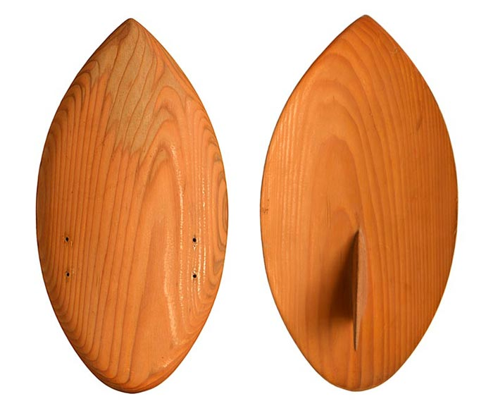 POD Handboard Shape Refined with Fin - Circa 1992