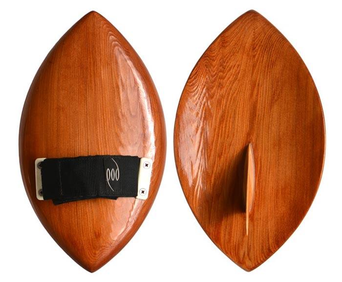 Handcrafted Cedar POD Handboards - Circa 1990